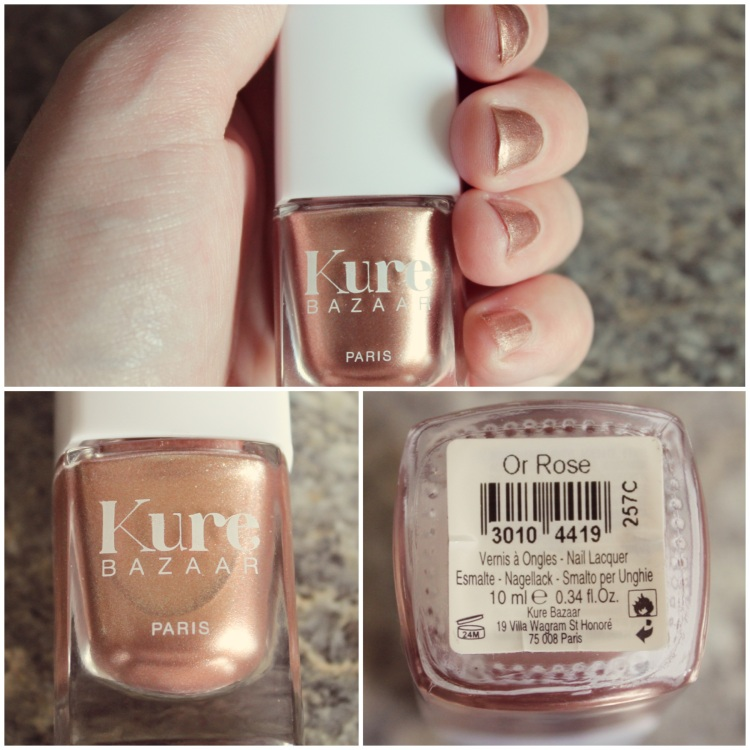 "Beauty Buzz | Kure Bazaar Nail Lacquer in ""Or Rose"" – Beauty By Britanie"