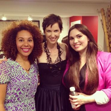 with Brandie Gilliam of Organic Beauty Talk and Kristen Arnett of Green Beauty Team