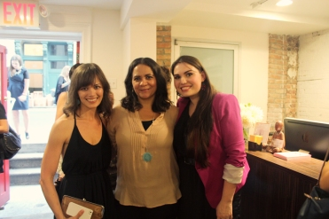 with Caitlin of Roostblog and Victoria of La Bella Figura